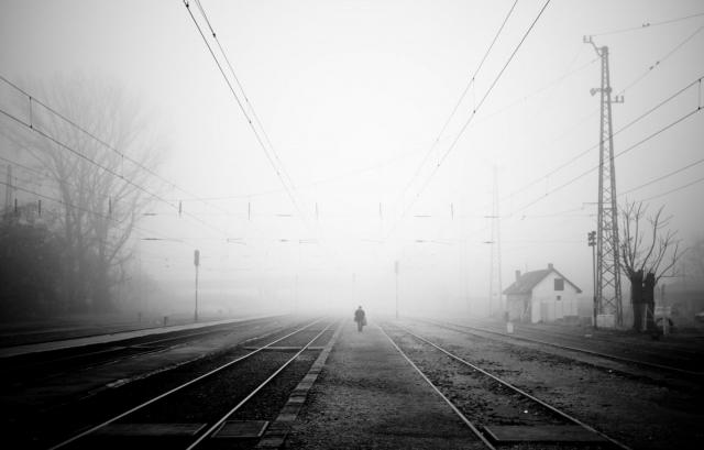 Железная Дорога в тумане
