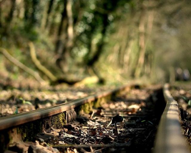 Ржавая железная дорога