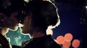 Обои Поцелуй: Романтика, Любовь, Поцелуй, Девушка и парень, Настроения