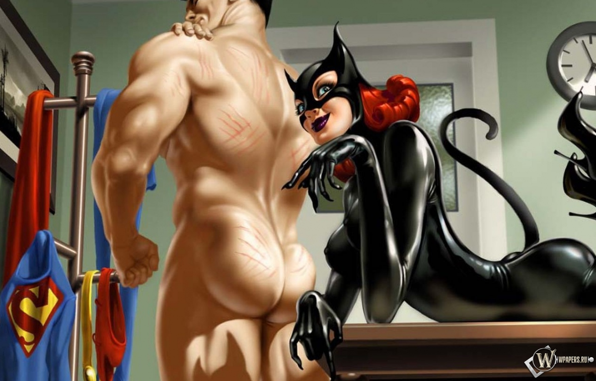 Catwoman and Superman 1200x768