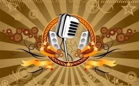 Обои Микрофон: Музыка, Микрофон, Музыка