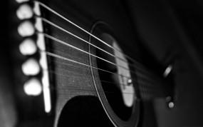 Обои Акустическая гитара: Гитара, Музыка, Корпус, Струны, Музыка