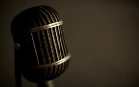 Обои Микрофон: Ретро, Музыка, Микрофон, Стиль, Музыка