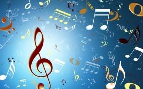 Обои Ноты: Музыка, Ноты, Скрипичный ключ, Музыка