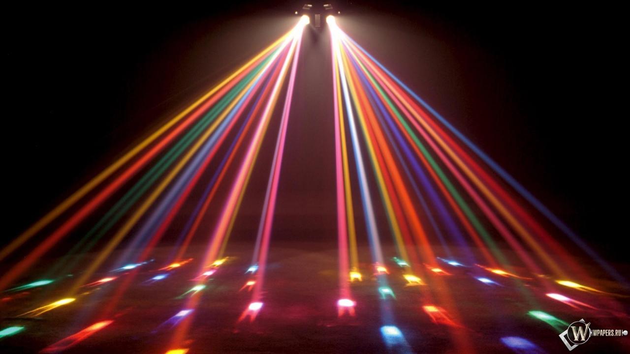 Disco Lights 1280x720