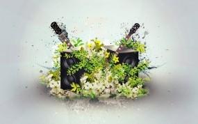 Музыкальные цветы