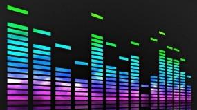 Обои Эквалайзер: Синий, Зелёный, Музыка, Розовый, Эквалайзер, Музыка