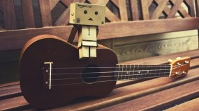 Обои Данбо на гитаре: Гитара, Музыка, Настроение, данбо, Музыка