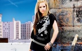 Обои Avril Lavigne: Девушка, Певица, Музыка