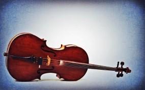Обои Старая виолончель : Ретро, Скрипка, Виолончель, Музыкальный инструмент, Музыка