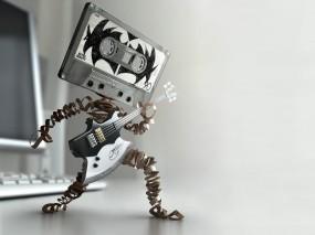 Обои Магнитофонная кассета: Гитара, Музыка, Кассета, Музыка