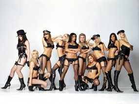 Обои Sexy Pussycat Dolls: Музыка, Девушки, Группа, Pussycat Dolls, Музыка