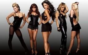 Обои Pussycat Dools in balck: Музыка, Девушки, Группа, Pussycat Dolls, Музыка