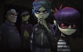 Обои Гориллаз: Группа, Gorillaz, Музыканты, Музыка