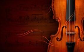 Обои Скрипка: Скрипка, Музыка