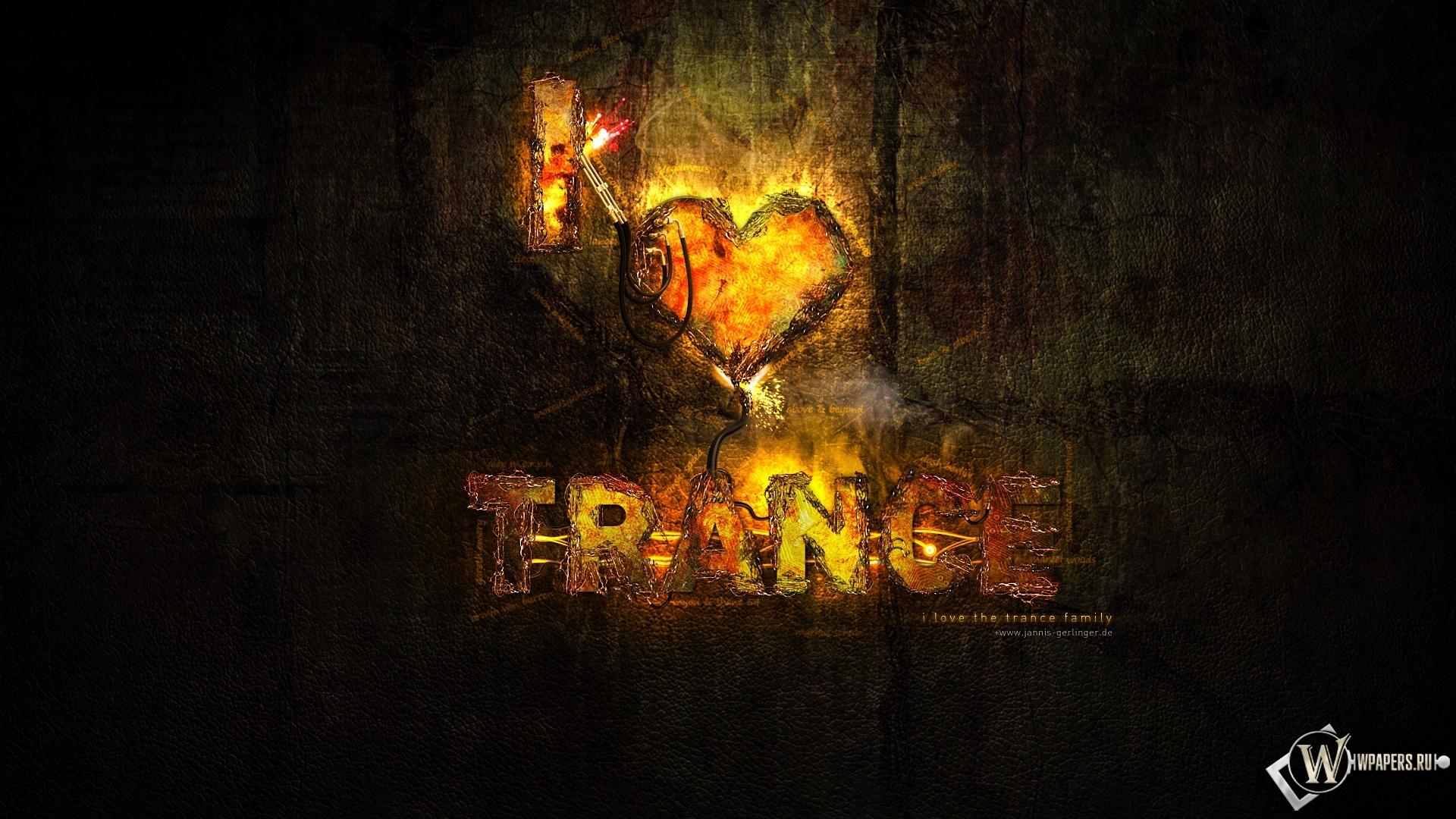 Trance music обои для рабочего стола
