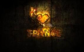 Обои I LOVE TRANCE: Музыка, Trance, Чёрное, Музыка