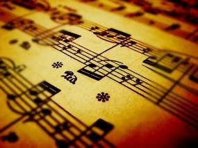 Обои Ноты: Бумага, Ноты, Музыка