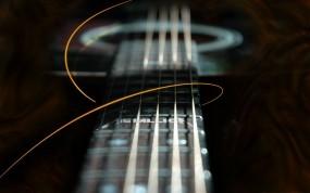 Обои Гитара metallica: Гитара, Гриф, Metallica, Музыка