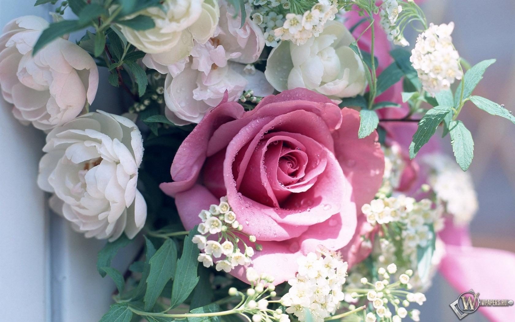 Букет цветов 1680x1050