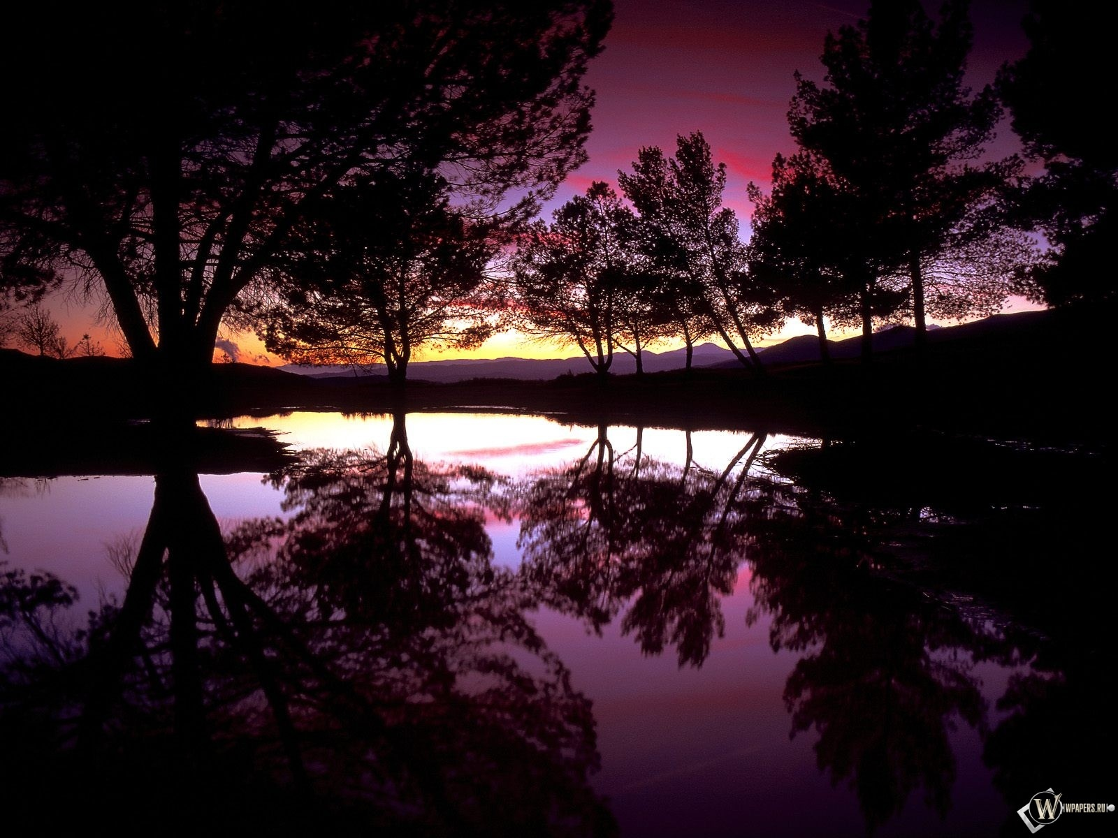 Ночной пейзаж 1600x1200