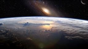 Обои Земля и Звёзды: Космос, Земля, Звёзды, Вселенная, Туманность, Космос