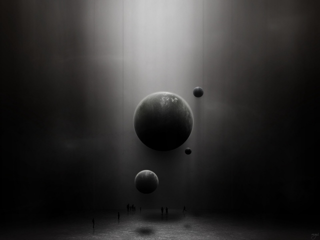 Серые планеты