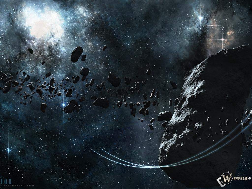Астероид 1024x768