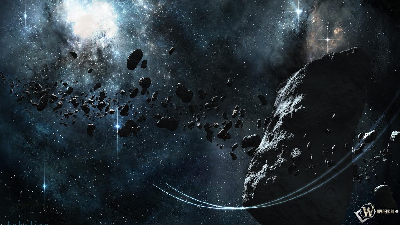 Астероид 1280x720