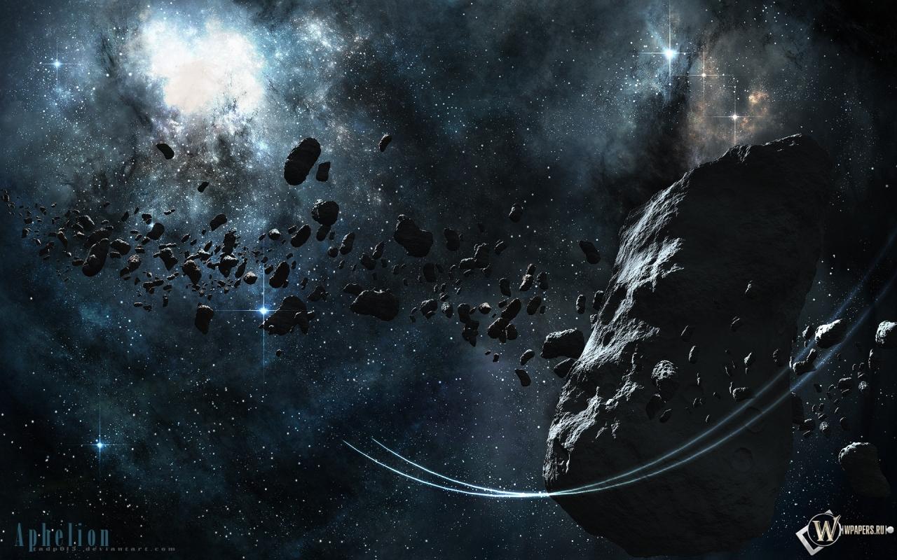 Астероид 1280x800