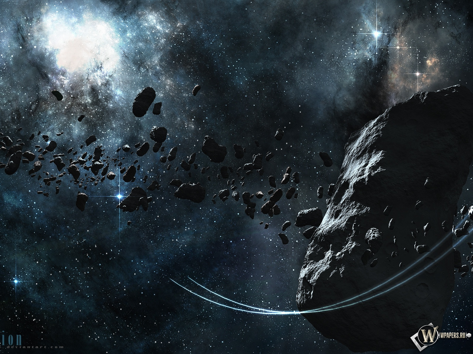 Астероид 1600x1200