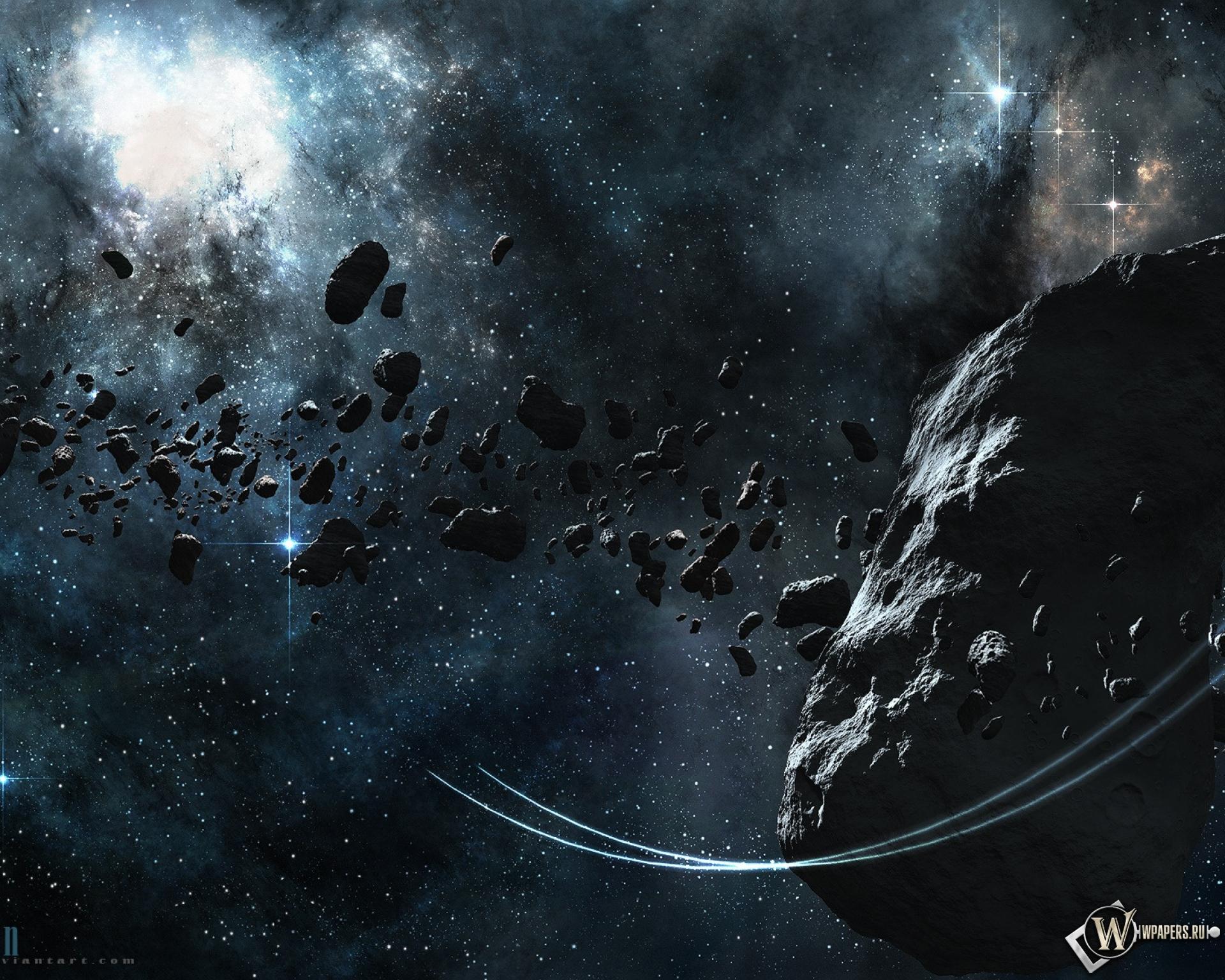 Астероид 1920x1536