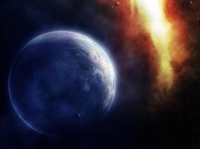 Обои Галактика: Космос, Планета, Звёзды, Галактика, Космос