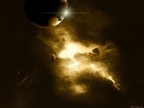 Обои Космическое пространство: Космос, Планеты, Звёзды, Космос