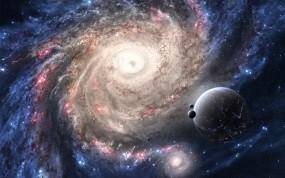 Обои Галактика: Планеты, Звёзды, Галактика, Космос