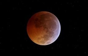 Обои Затмение луны: Космос, Затмение, Луна, Космос