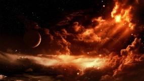 Планета в облаках