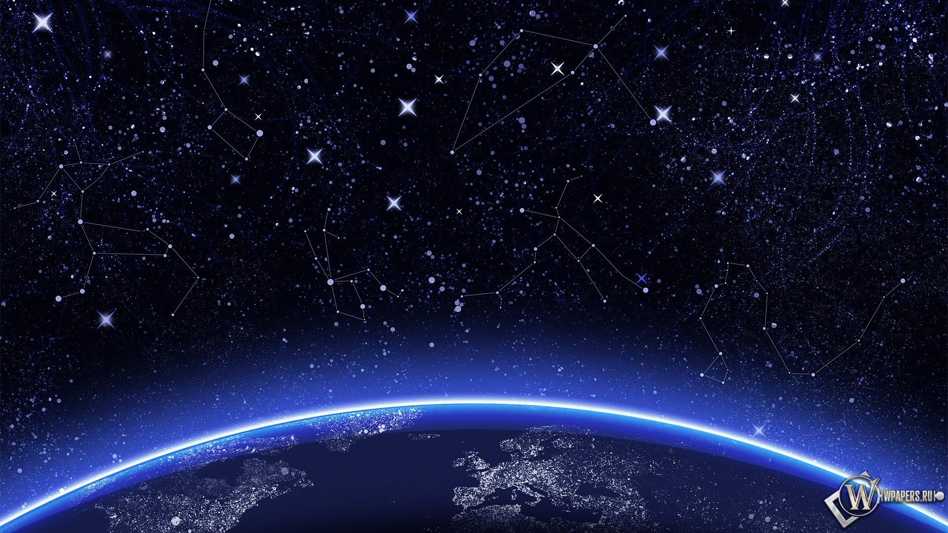 скачать картинку звездное небо