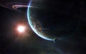 Обои Infinity Space: Солнце, Космос, Планета, Звёзды, Космос