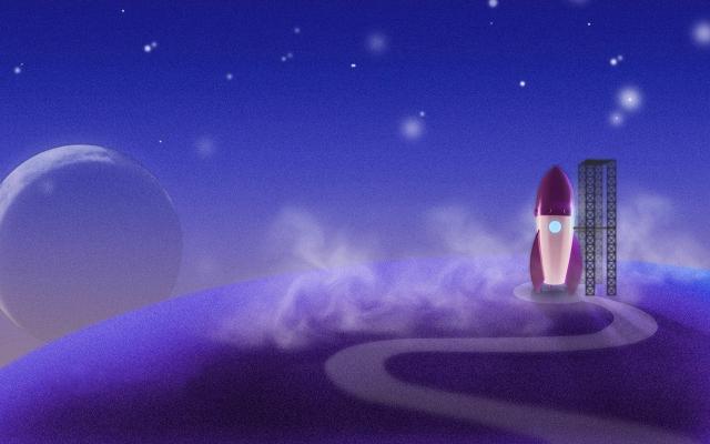 Ракета на космодроме