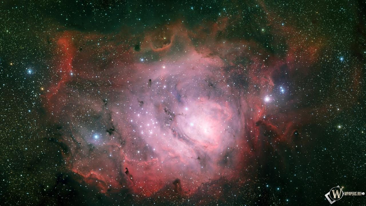 Туманность Лагуна 1280x720
