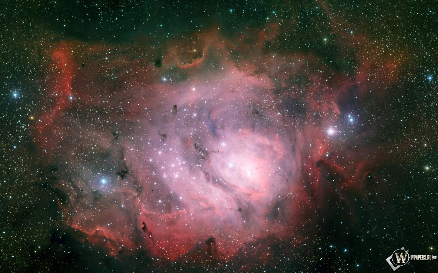 Туманность Лагуна 1536x960