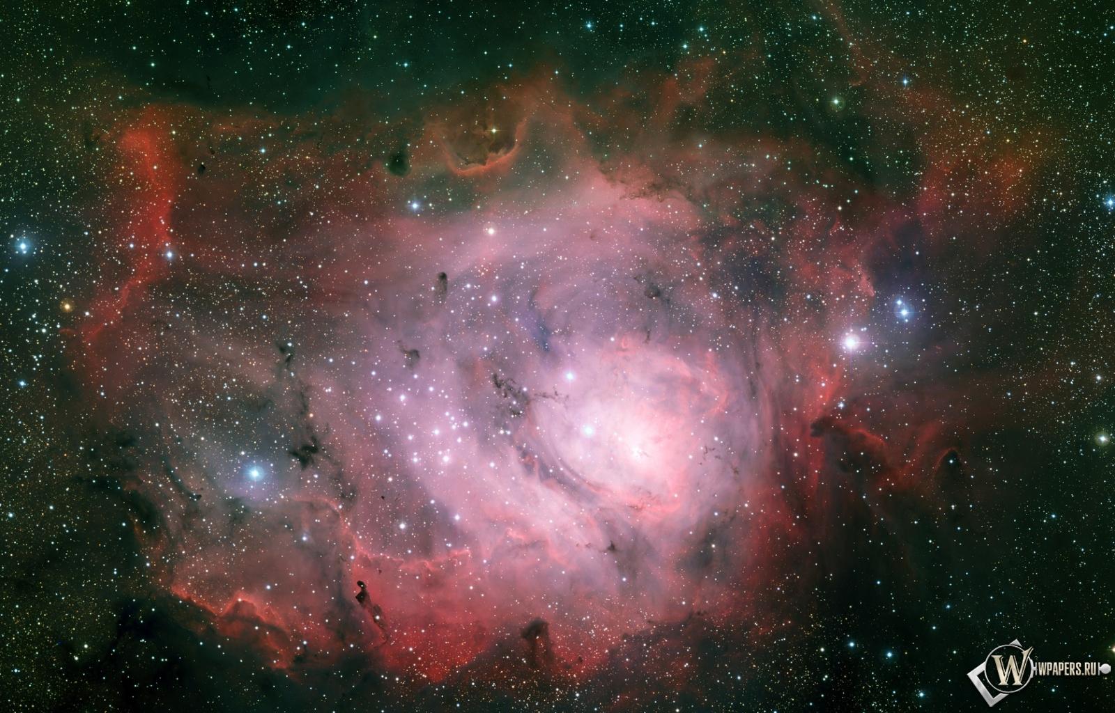 Туманность Лагуна 1600x1024