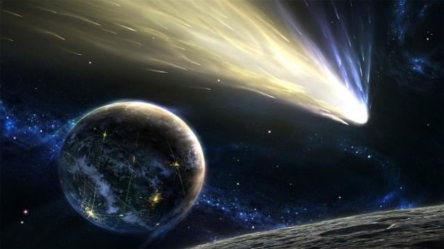 Летящая комета