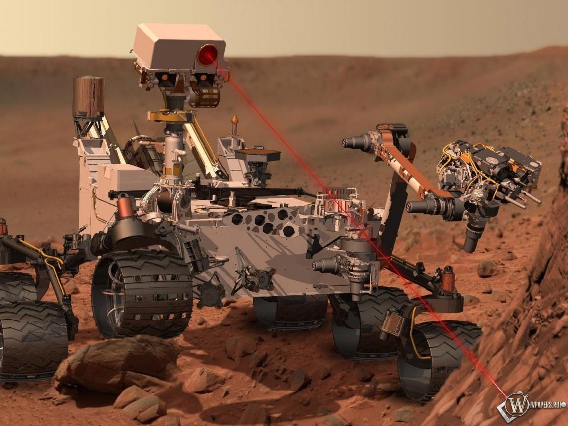 Марсоход Curiosity 1152x864