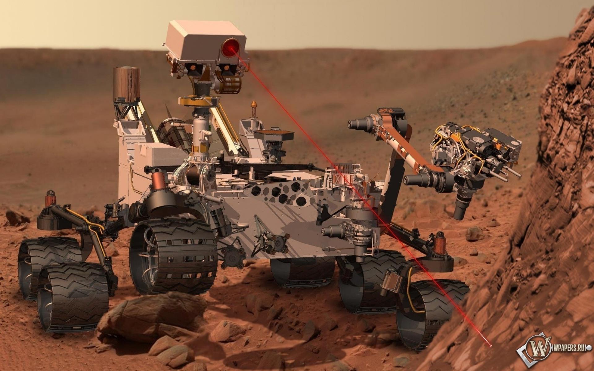Марсоход Curiosity 1920x1200