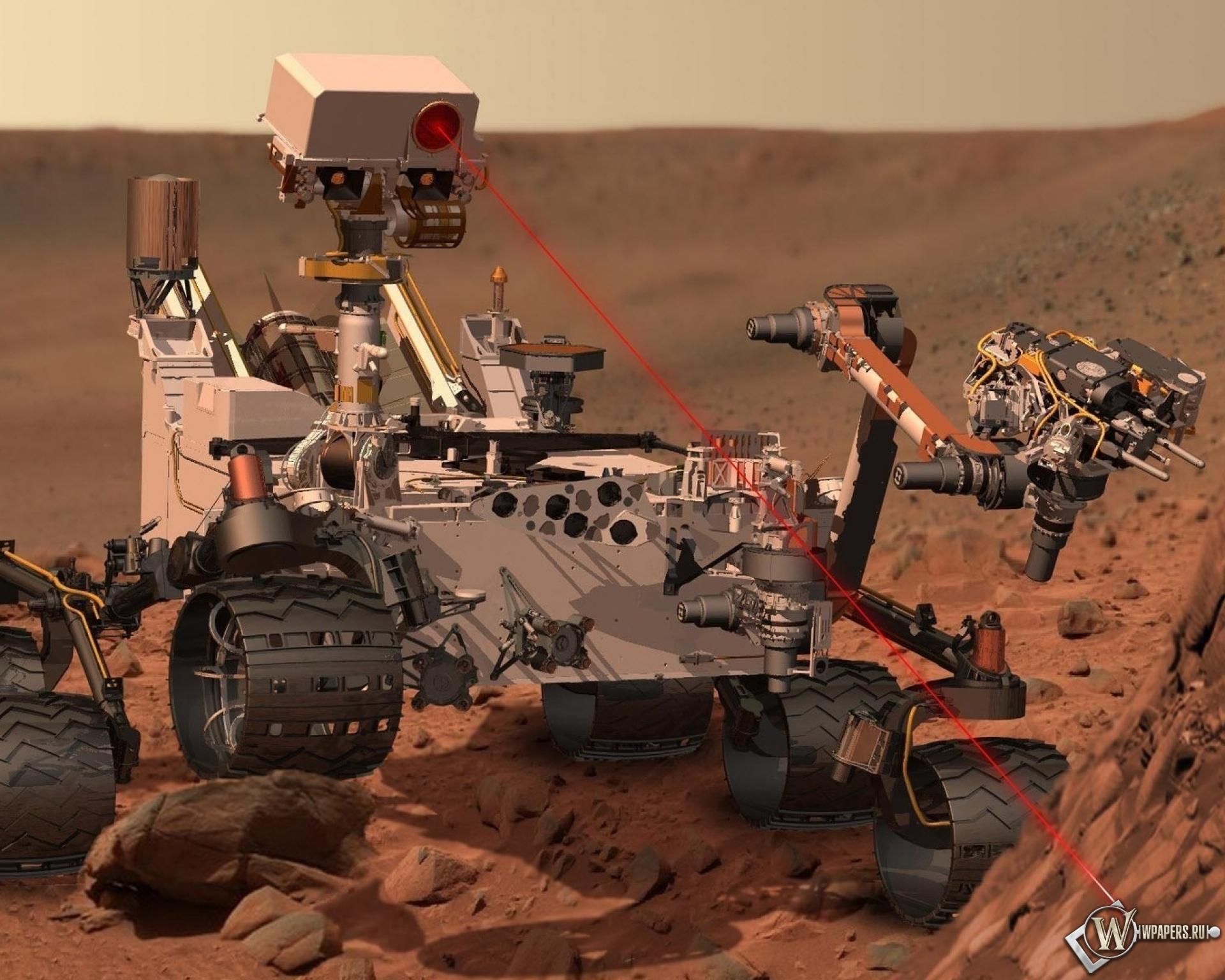 Марсоход Curiosity 1920x1536