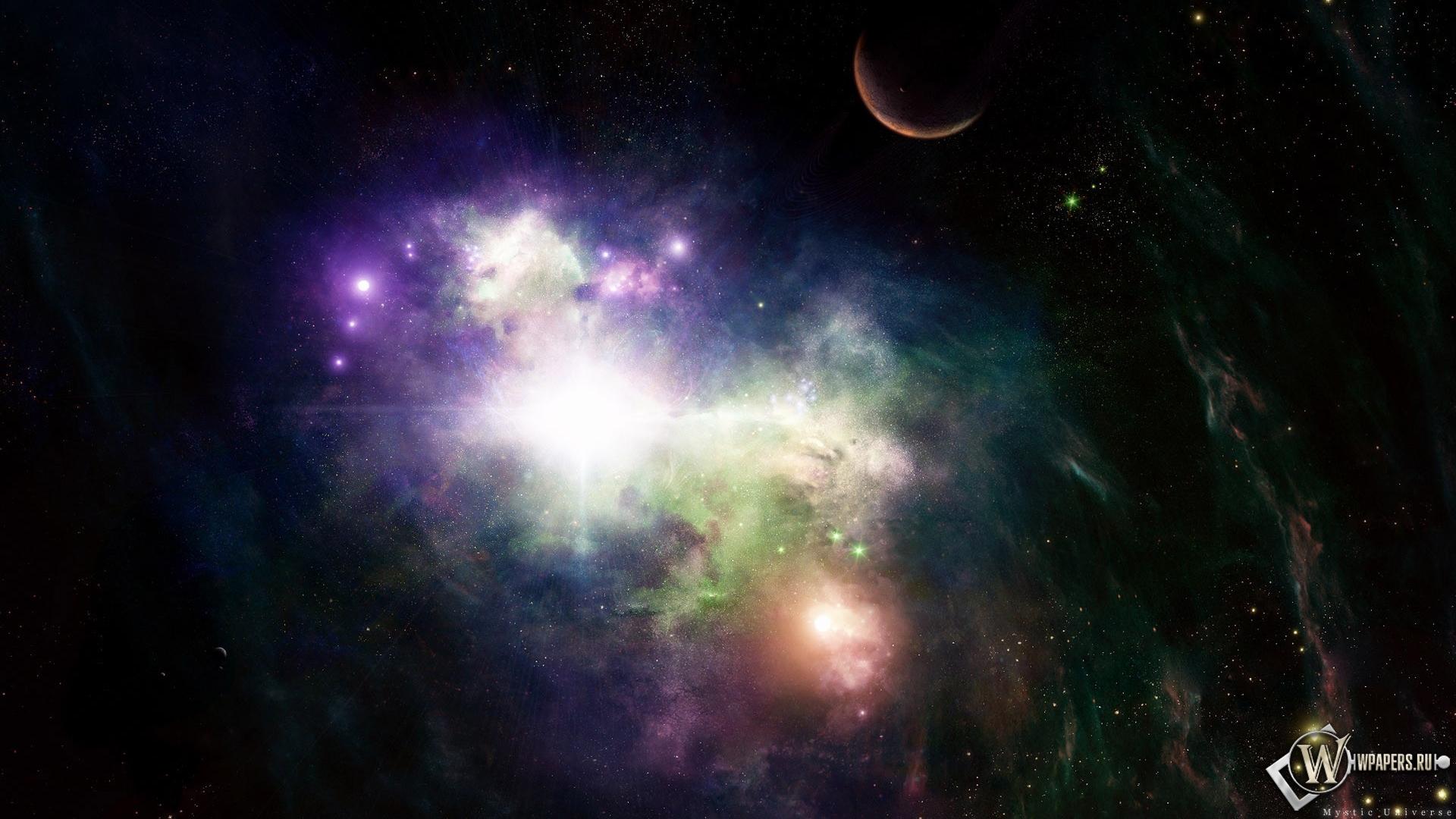 Галактика обои на рабочий стол 1920х1080 7