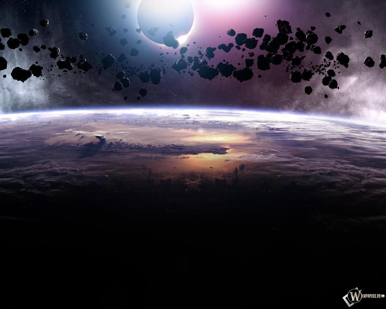 Астероиды 1280x1024
