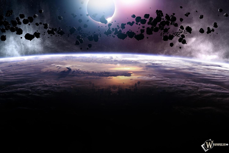 Астероиды 1500x1000